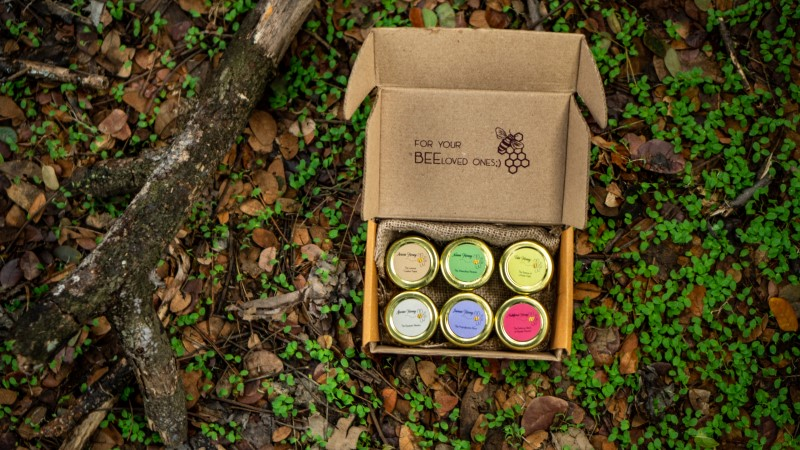 """Illustrative gift set """"The Perfect Health Gift"""""""